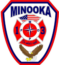 Minooka Fire Badge